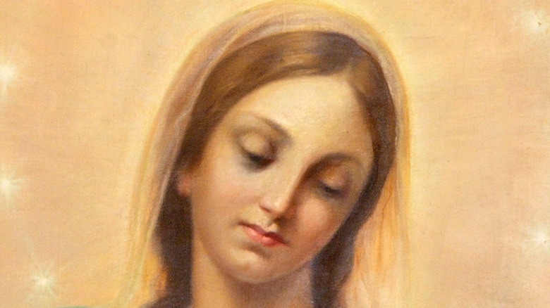 Painting of the Virgin Mary