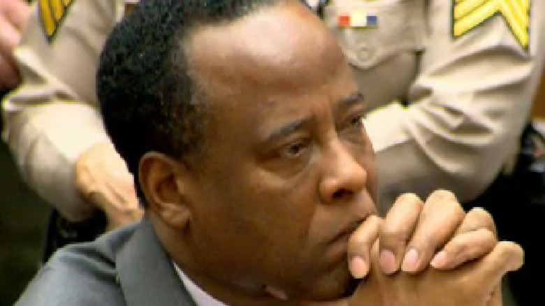 Dr. Conrad Murray in court