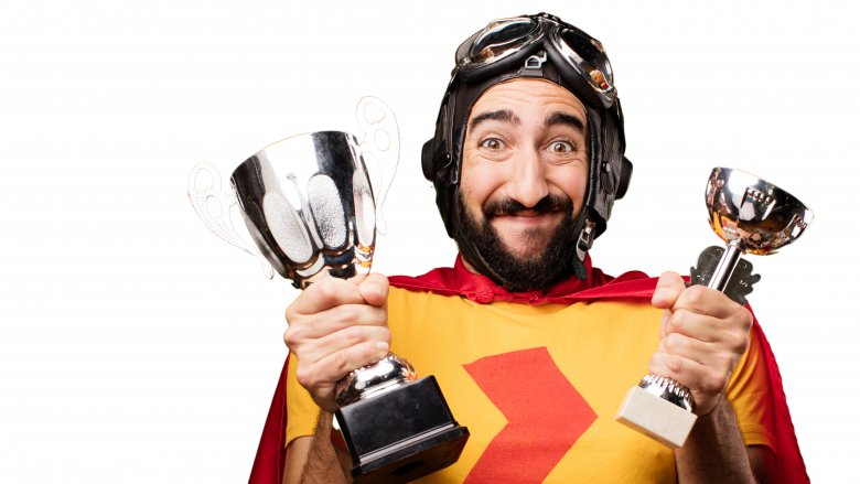 race car driver trophies