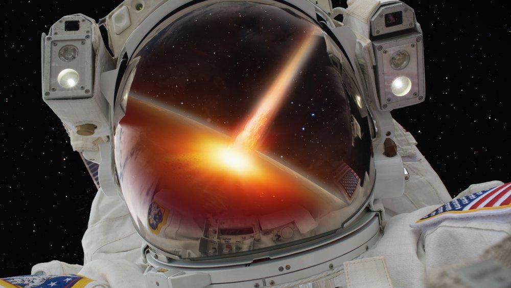 Astronaut, Asteroid