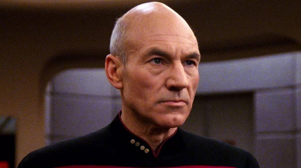 Patrick Stewart in Star Trek: The Next Generation