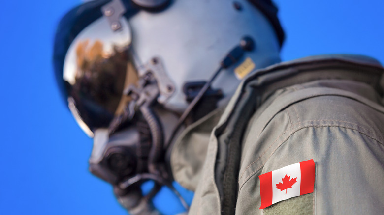 Canadian Air Force pilot
