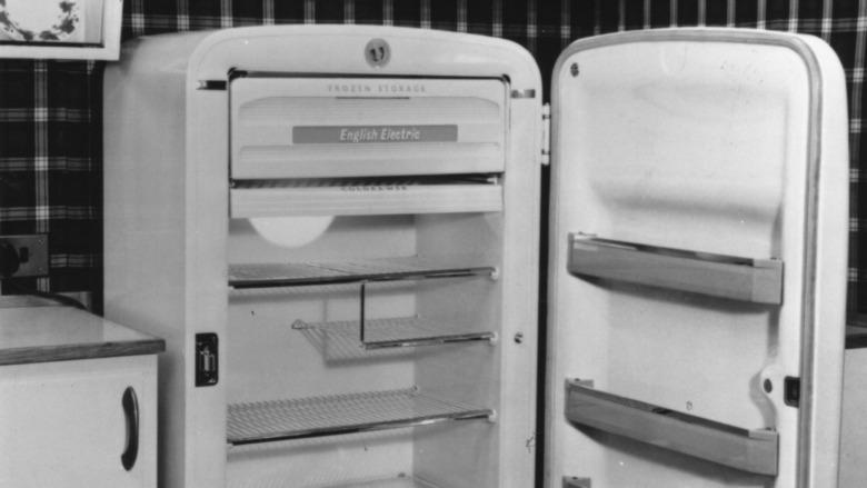 Old-fashioned refrigerator