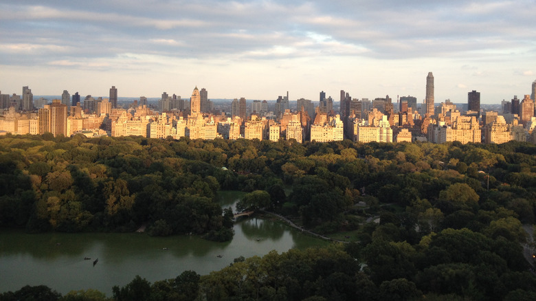 Central Park looking west
