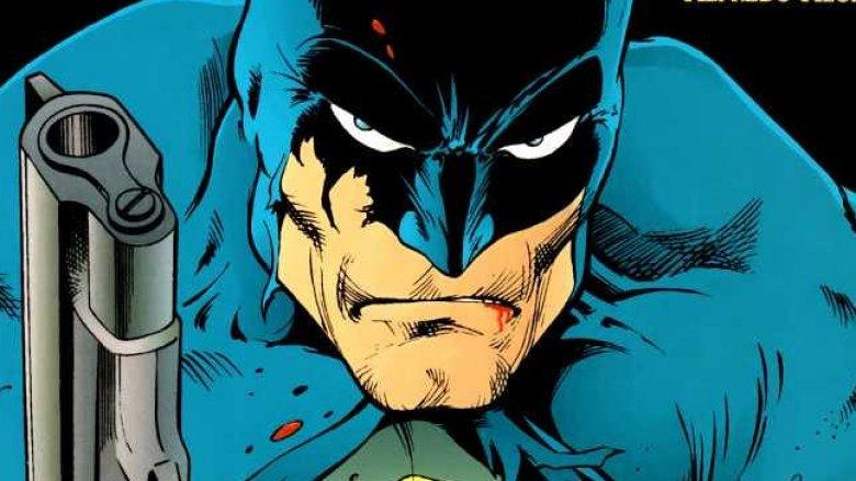 batman with gun