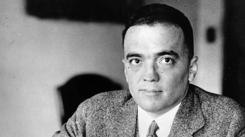 FBI director J. Edgar Hoover