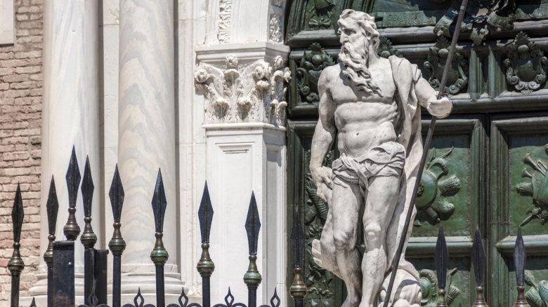 statue poseidon greek myth
