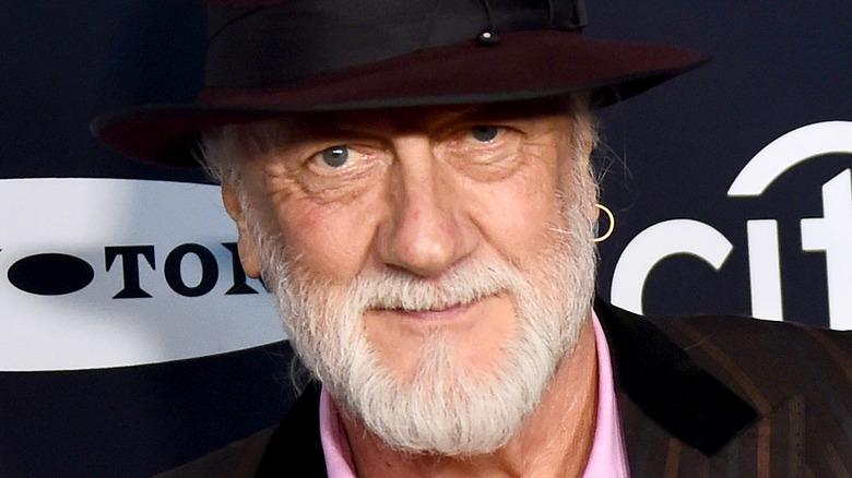 Mick Fleetwood wearing hat