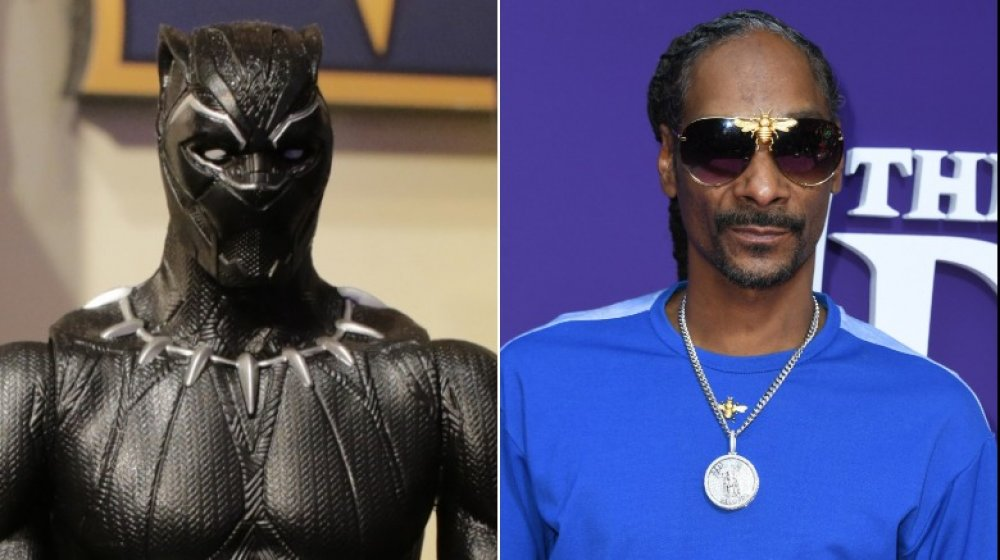 Black Panther and Snoop Dogg