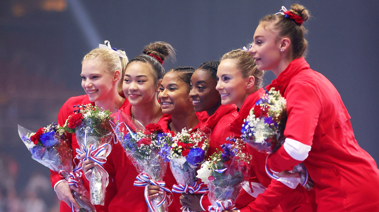 the us women's gymnastic team
