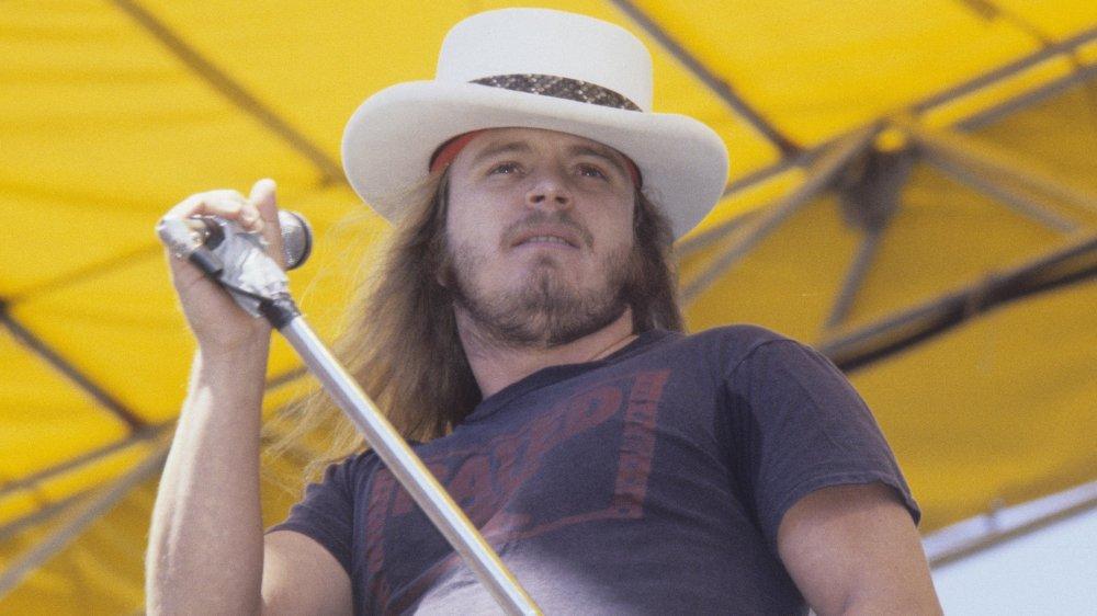 Ronnie Van Zant of Lynyrd Skynyrd
