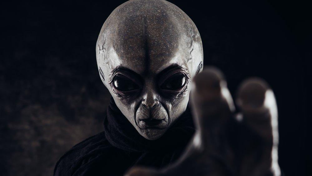 grey alien scary extraterrestrial