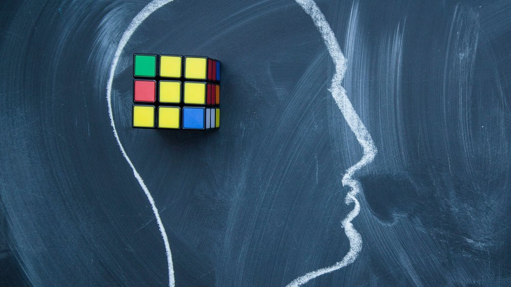 rubik's cube brain