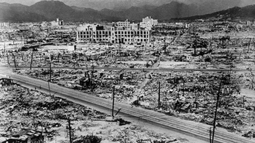 Hiroshima bomb damage