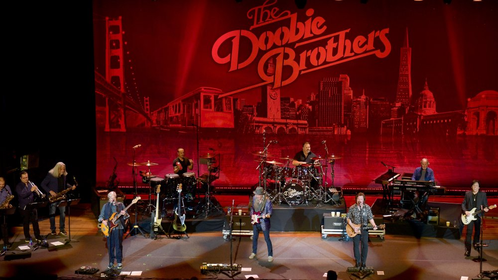 The Doobie Brothers performing in 2019