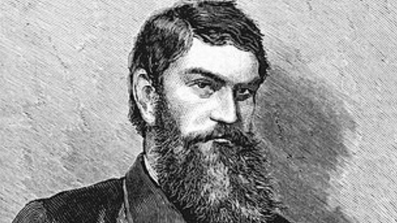 Sketch of Ned Kelly