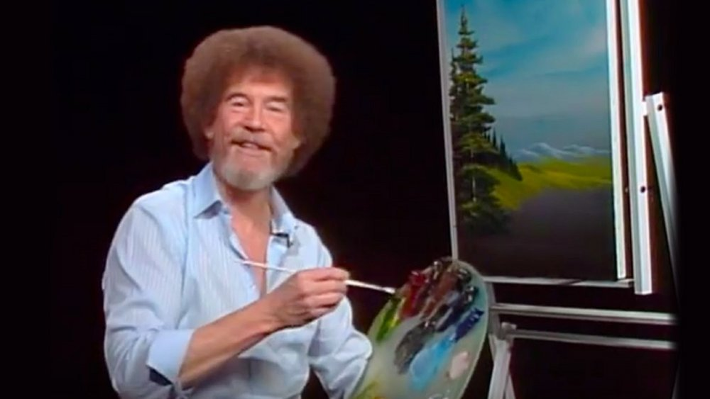 Bob Ross in The Joy of Painting