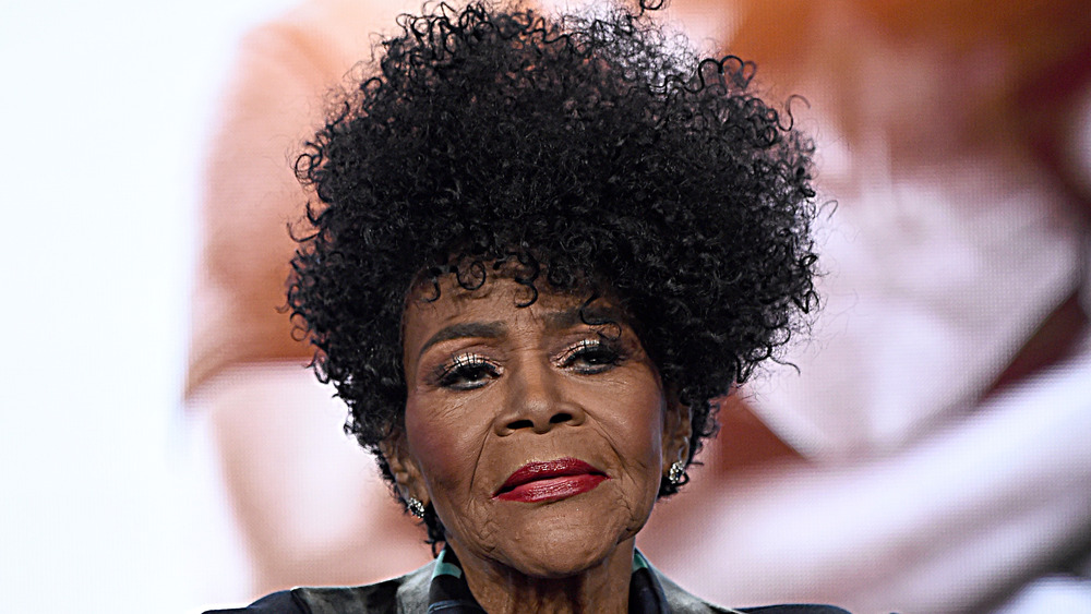 Cicely Tyson on stage