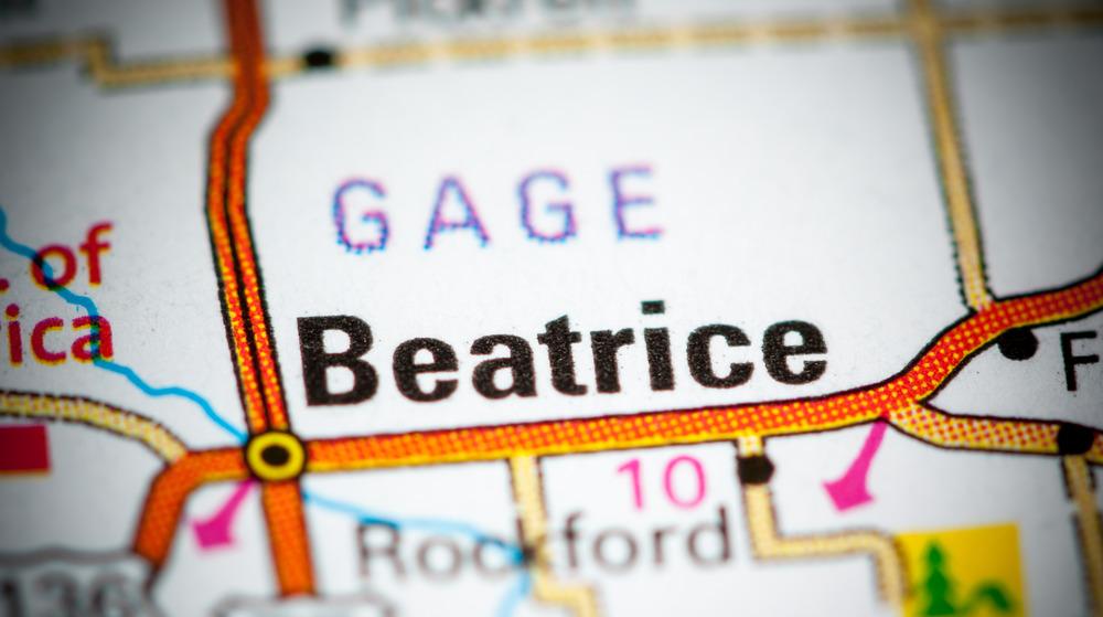 Gage County in Beatrice, Nebraska