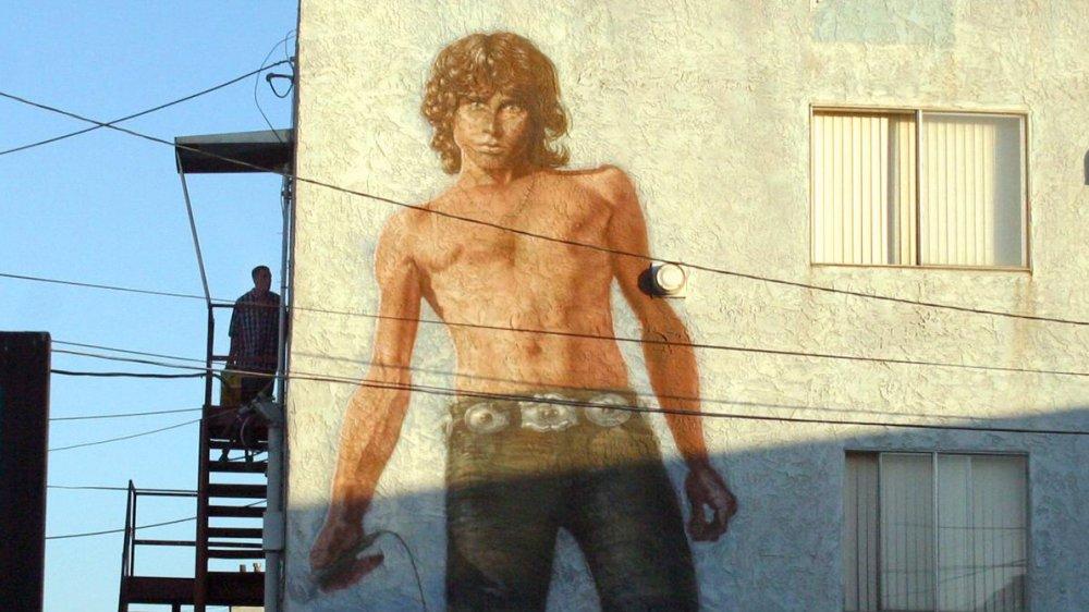 Jim Morrison mural