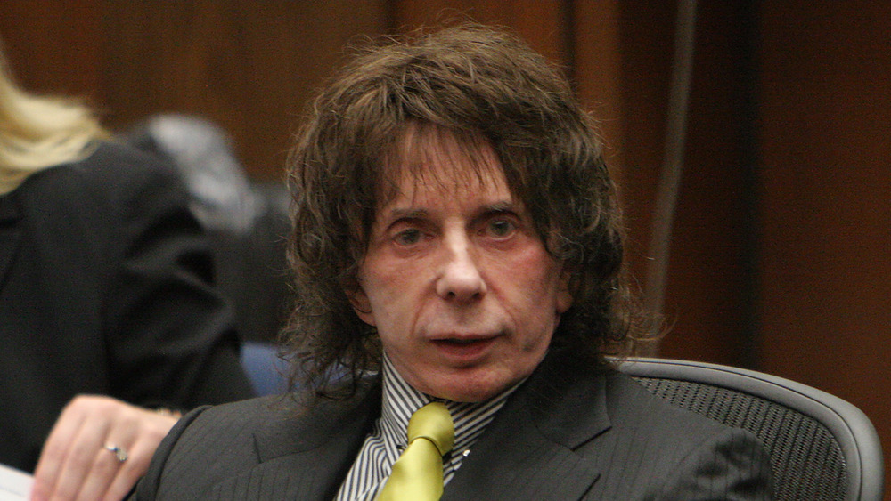 Phil Spector in court