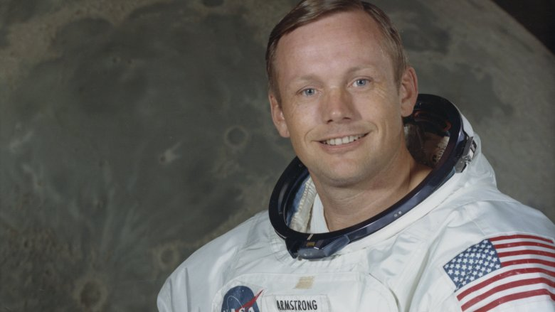Neil Armstrong, moon, spacesuit