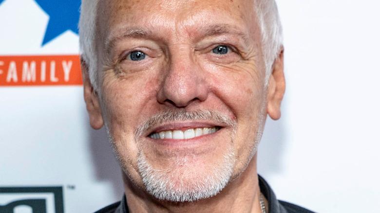 Peter Frampton smiling