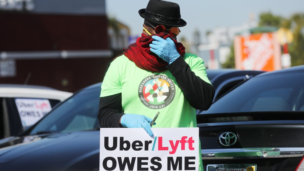 Uber/Lyft driver