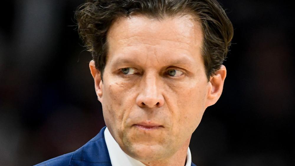 Utah Jazz head coach Quin Snyder