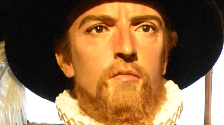 Ponce de Leon wax figure