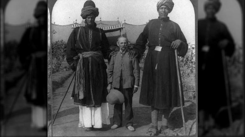 Kashmir giants and Professor James Ricalton