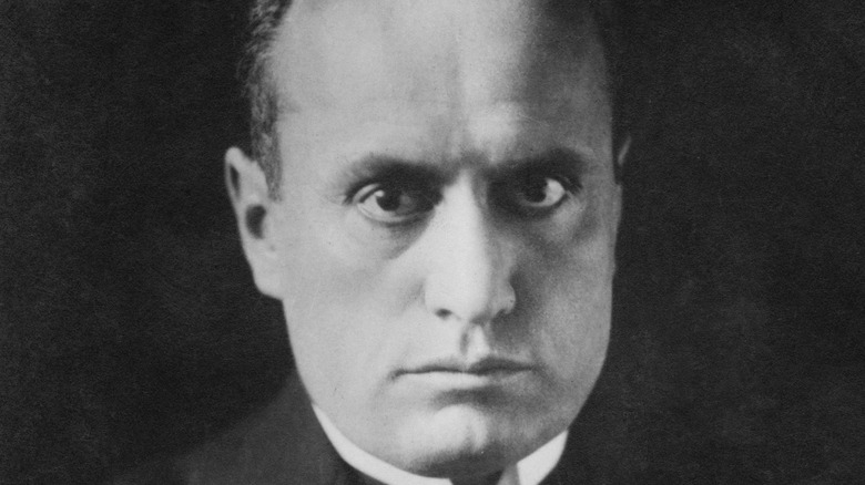Benito Mussolini in 1923