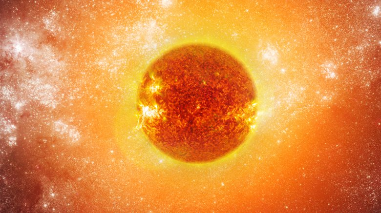 The sun, the great hot marble of the sky