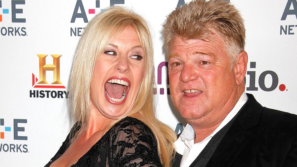 Dan and Laura Dotson grinning