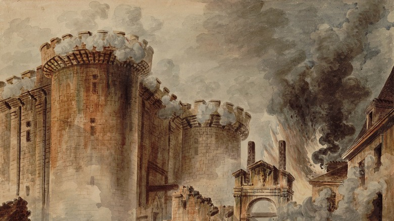 The Storming of the Bastille, 1789