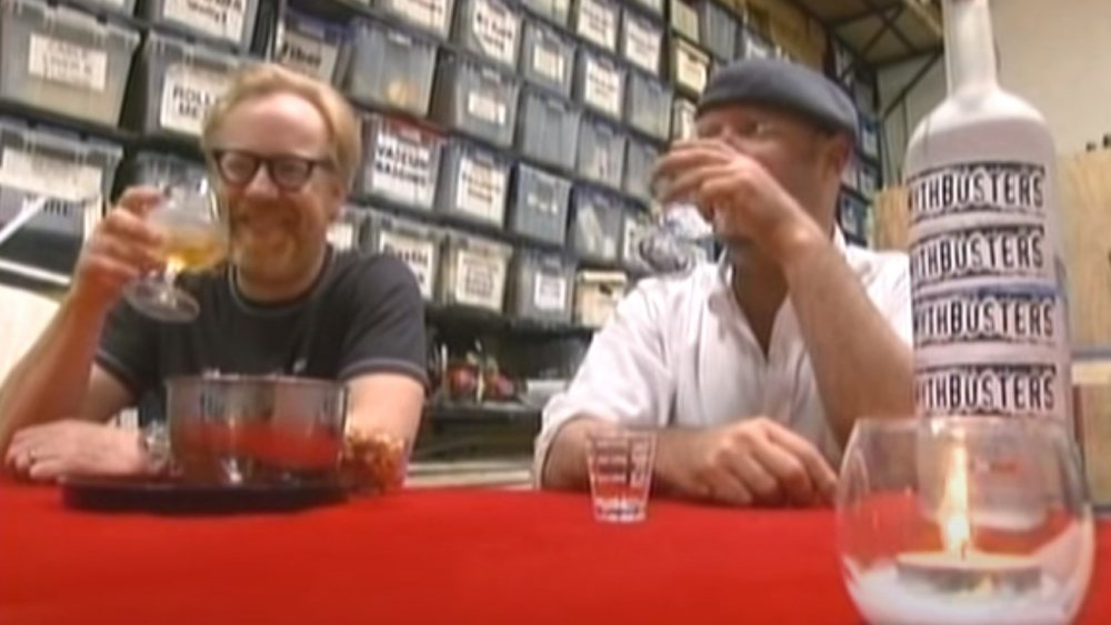 mythbusters drinking