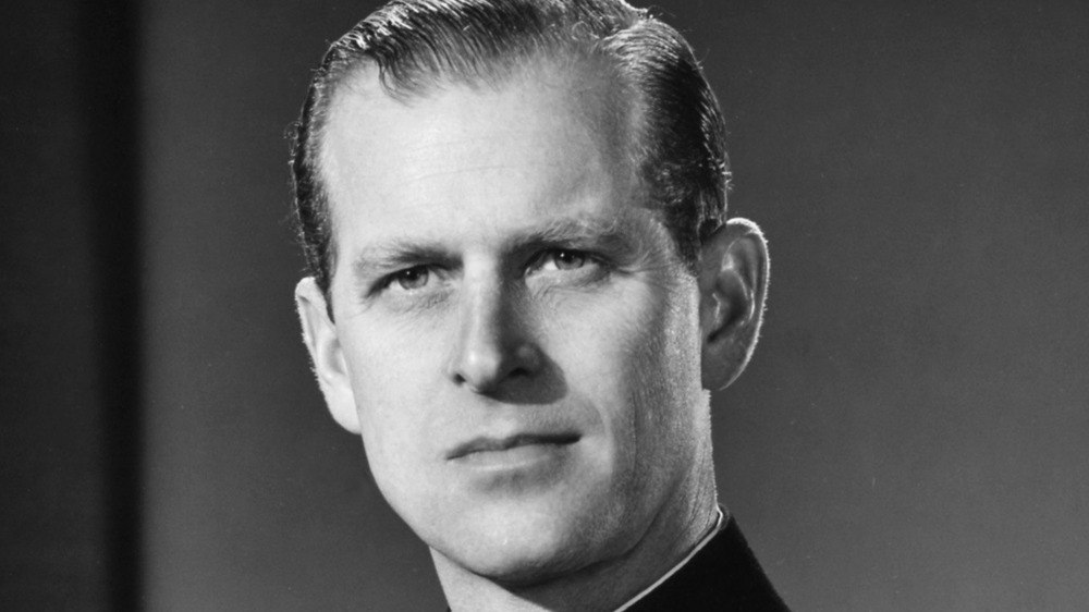 old photo of prince philip