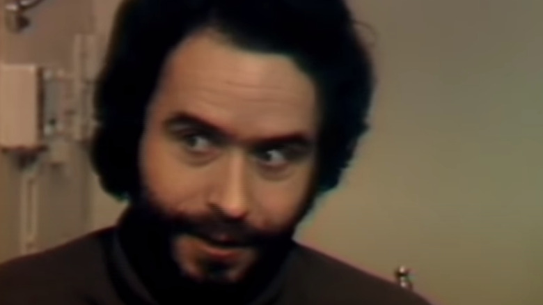 Ted Bundy during an interview