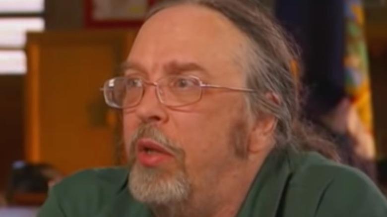 Joel Rifkin being interviewed