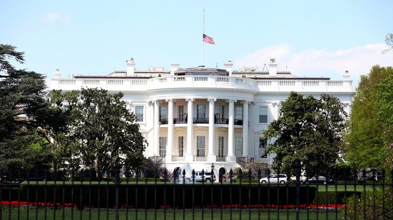 White House facade