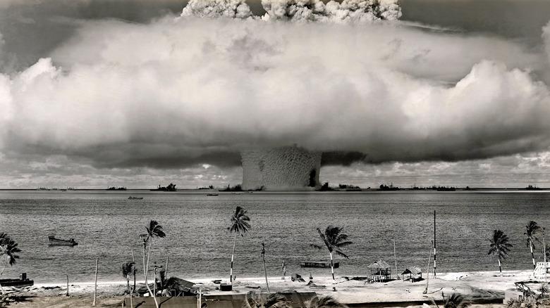 atom bomb mushroom cloud
