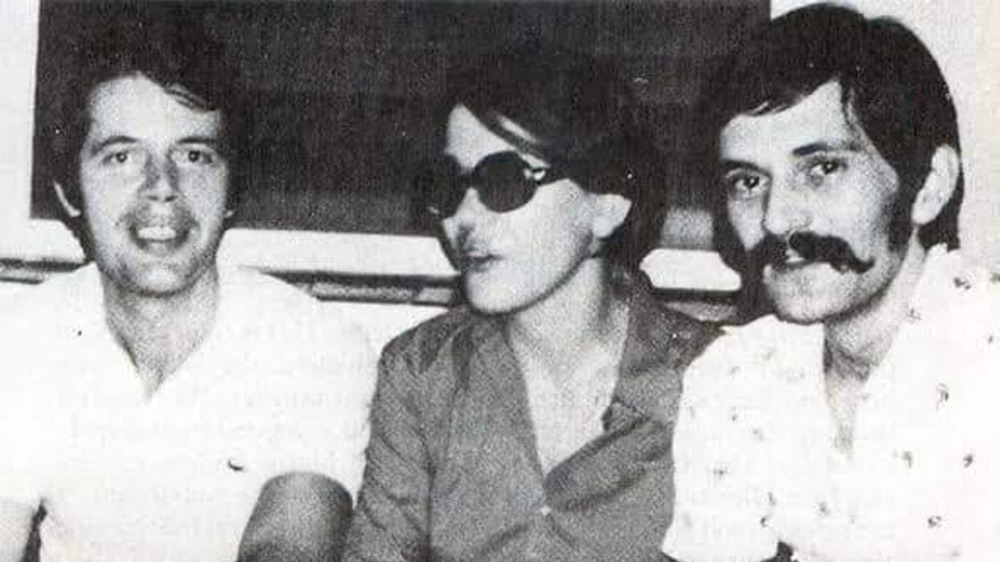 Dutch junior diplomat Herman Knippenberg (with Nadine and Rémy Gires, 1970s)