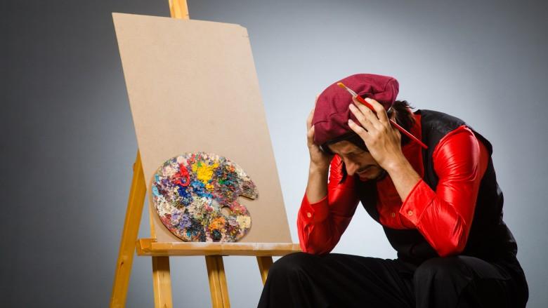 sad artist