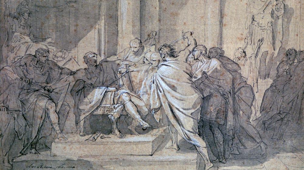Assassination of Julius Caesar', c1749-1821.