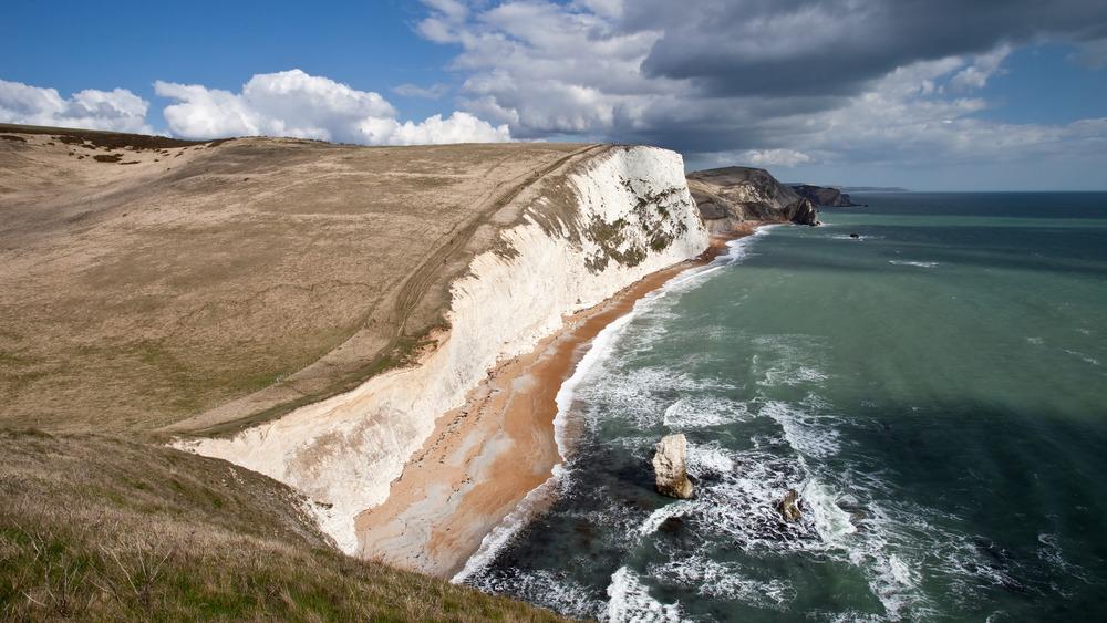 The Jurassic Coast along Dorset, England