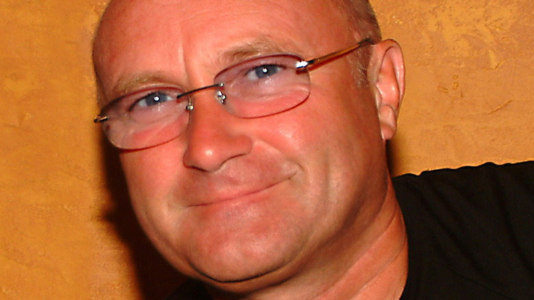 Phil Collins smiling