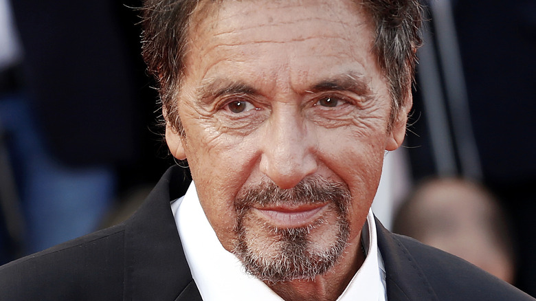 Al Pacino posing for pictures