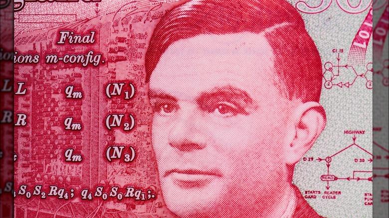 Alan Turing on 50 £ note