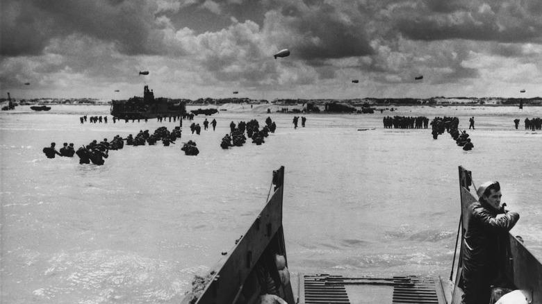 U.S. Normandy landings on D-Day