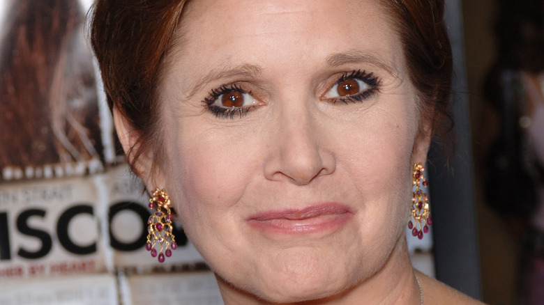 actress Carrie Fisher